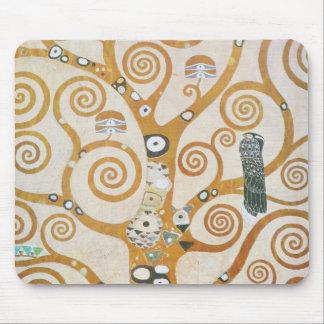Mousepad Gustavo Klimt a árvore da arte Nouveau da vida