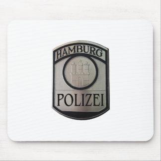 Mousepad Hamburgo Polizei
