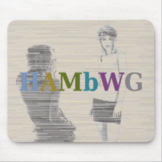 Mousepad HAMbWG - rato do computador - duas meninas