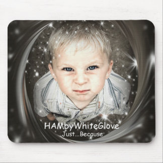 Mousepad HAMbyWG - HambyWhiteglove - apenas porque