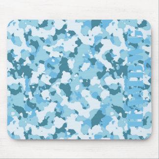 Mousepad HAMbyWG - tapete do rato - camuflagem azul