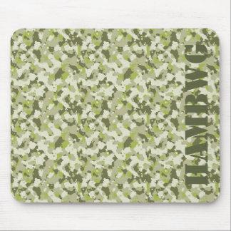 Mousepad HAMbyWG - tapete do rato - camuflagem verde