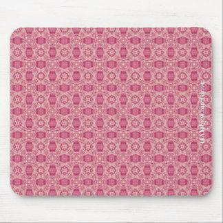 Mousepad HAMbyWG - tapete do rato - discos do rosa