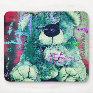 Mousepad HAMbyWG - tapete do rato - urso de ursinho