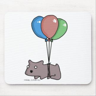 Mousepad Hamster Frank do balão pelo Painel-o-Matic