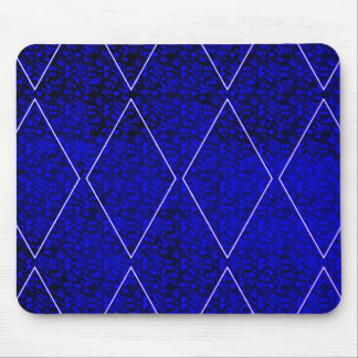 Mousepad Harlequin-Real--Blue-Diamond_Floral_Unisex