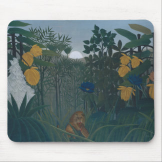 Mousepad Henri Rousseau - o Repast do leão