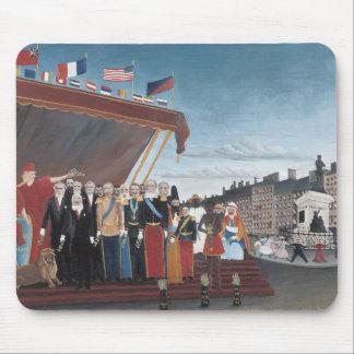 Mousepad Henri Rousseau - representantes de estrangeiro