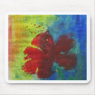 Mousepad hibiscus