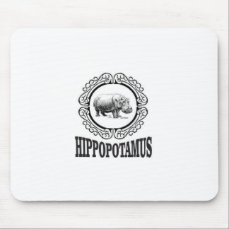 Mousepad Hipopótamo quadro