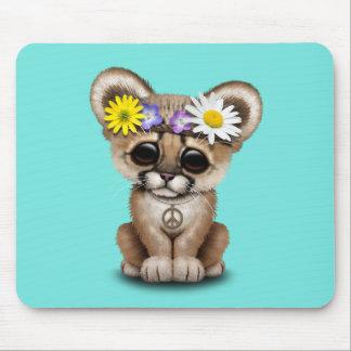 Mousepad Hippie bonito de Cub do puma