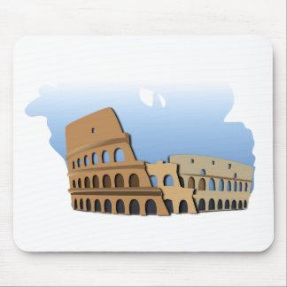 Mousepad História antiga Italia do coliseu de Coliseo Roma