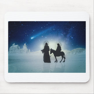 Mousepad História Mary e Jesus do Natal