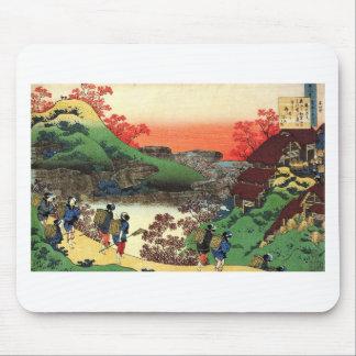 Mousepad Hokusai - arte japonesa - Japão