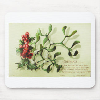 Mousepad Holly_Christmas_card_