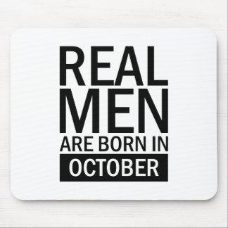 Mousepad Homens reais outubro