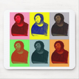 Mousepad Homo de Ecce - estilo do pop art