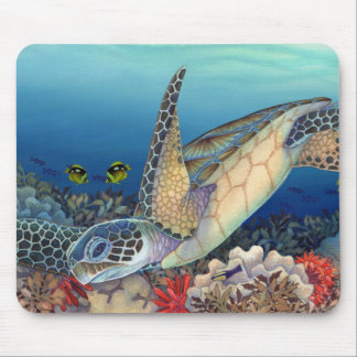 Mousepad Honu (tartaruga de mar verde)
