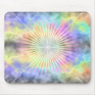 Mousepad Horizonte da explosão da estrela do arco-íris