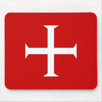 Mousepad hospitall teutonic templar de malta da cruz