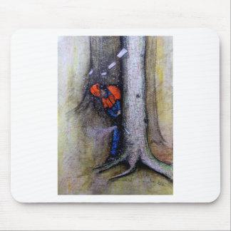 Mousepad Husqvarna do stihl do cirurgião de árvore do