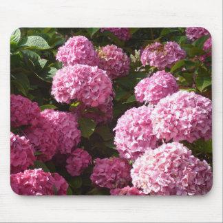 Mousepad Hydrangeas cor-de-rosa