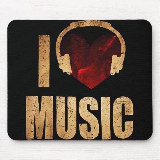 "Mousepad ""I Love Music"""