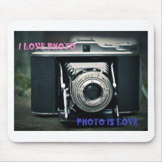 MOUSEPAD I LOVE PHOTO PHOTO IS LOVE