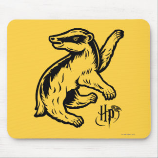 Mousepad Ícone do texugo de Harry Potter | Hufflepuff