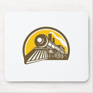 Mousepad Ícone do trem da locomotiva de vapor
