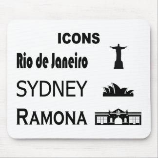 Mousepad Ícone-Rio-Sidney