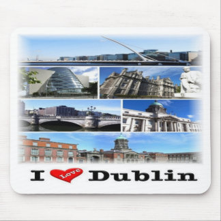 Mousepad IE Ireland - Dublin - amor de I -