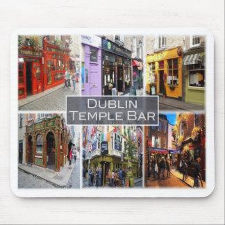 Mousepad IE Ireland - Dublin - bar Dublin do templo -