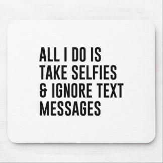Mousepad Ignore textos