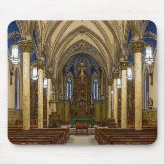 Mousepad Igreja Católica de St Peter Painterly