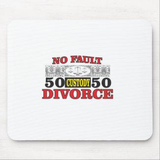 Mousepad igualdade 50 do divórcio 50 da no-falha