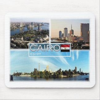Mousepad Ilha POR EXEMPLO de Egipto - de Cairo - de Gezira