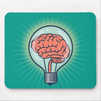 Mousepad Ilustração Brainy da ampola