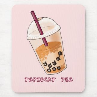 Mousepad Ilustração da chalaça do chá de Tapiocat