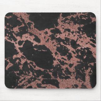 Mousepad Imagem cor-de-rosa da textura do brilho do ouro do