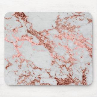 Mousepad Imagem cor-de-rosa da textura do mármore do brilho