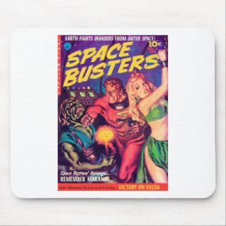 Mousepad Imbeceis do espaço