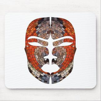 Mousepad Imitação do abstrato da máscara africana