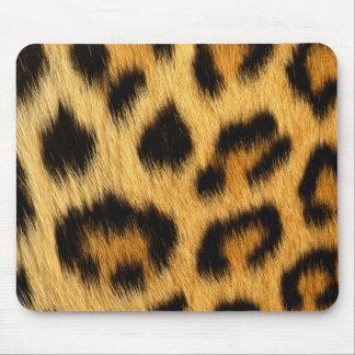 Mousepad Impressão animal da pele do leopardo