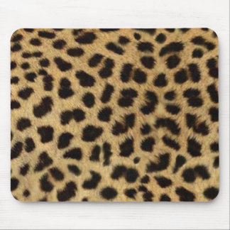 Mousepad impressão do leopardo do animal selvagem do safari
