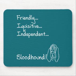 Mousepad Inquisitive Bloodhound