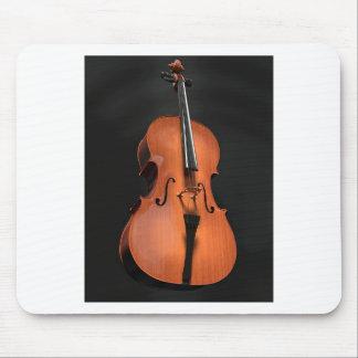 Mousepad Instrumento amarrado cordas da madeira do