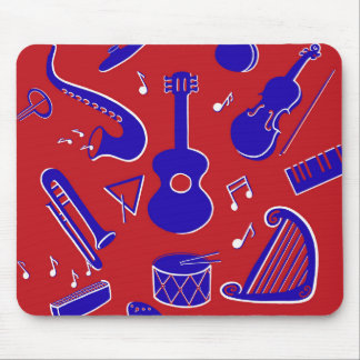 Mousepad Instrumentos musicais