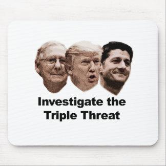 Mousepad Investigue a ameaça tripla