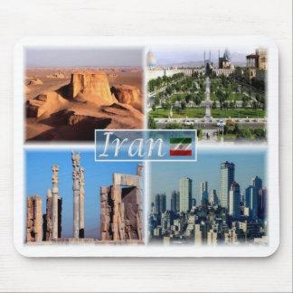 Mousepad IR Irã - Isfahan - deserto de Lut -
